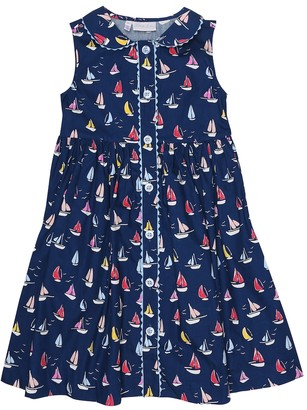 Rachel Riley Sailboat cotton dress