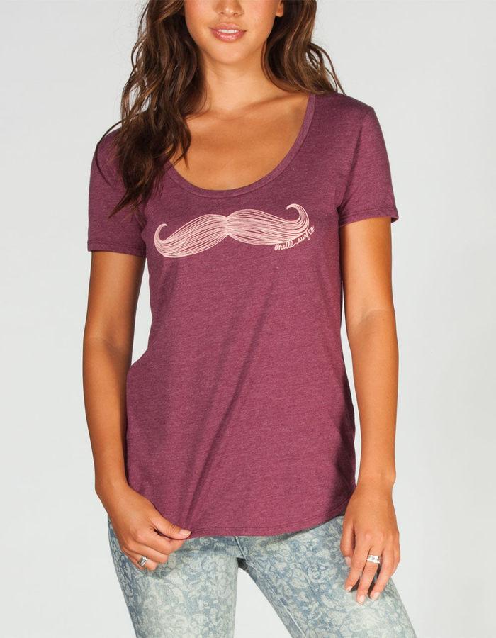 O'Neill Mustache Womens Tee