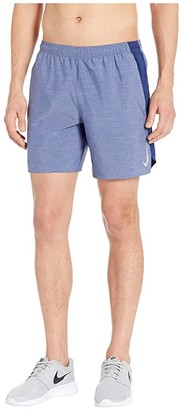 Nike Challenger Shorts 7 BF (Blue Void/Blue Void/Heather/Reflective Silver) Men's Shorts