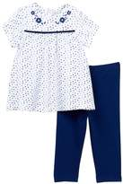 Offspring Indigo Tunic & Legging Set (Baby Girls)