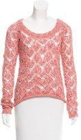 Torn By Ronny Kobo Open-Knit Haydon Sweater w/ Tags