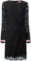MSGM lace shift dress