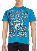 Affliction Cotton Screen Printed Tee
