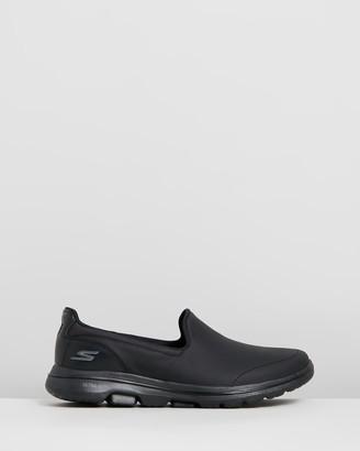 Skechers Go Walk 5 - Polished Leather - Women's