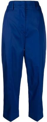Prada High Waisted Cropped Trousers
