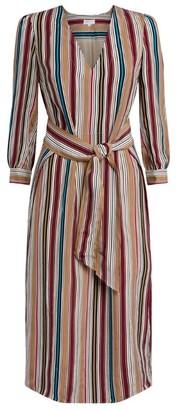 Claudie Pierlot Stripe Midi Dress