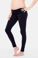 Ingrid & Isabel 'Active' Maternity Leggings with Crossover Panel