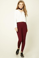 Forever 21 Side-Zip Leggings