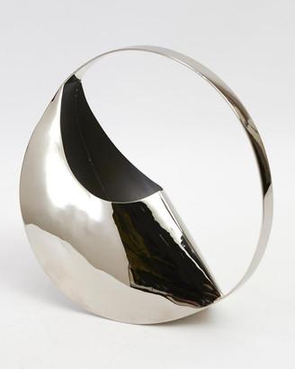Global Views Cleopatra Metal Vase