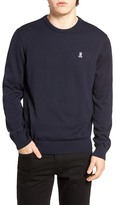 Psycho Bunny Pima Cotton Crew Neck Sweater