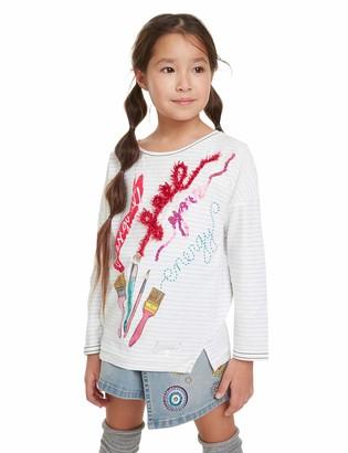 Desigual Girls Newcastle Longsleeve T - Shirt