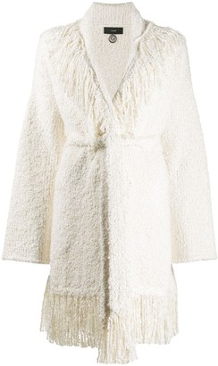 Alanui Fringed Boucle Pool Party Cardigan