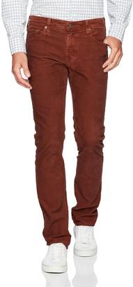AG Jeans Men's Matchbox Slim Straight Leg Corduroy
