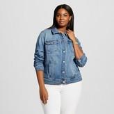 Ava & Viv Women's Plus Size Denim Jacket