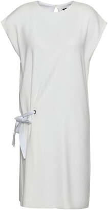 Rag & Bone Tie-detailed Crepe Mini Dress