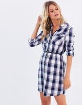 Dorothy Perkins Check Belted Shirt Dress