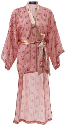 By Moumi Shirley Kimono Poison Apple