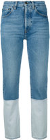 Ports 1961 two-tone jeans - women - Cotton - 30