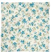 D'Ascoli Set Of Four Tidewater Floral-print Napkins - Blue Multi