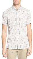 Billy Reid Men's Tuscumbia Floral Print Sport Shirt