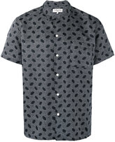YMC printed shirt - men - Cotton/Silk - S