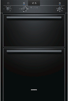 Siemens HB13MB621B Double Electric Oven, Black