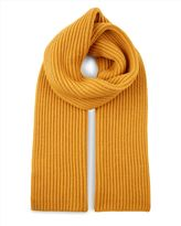 Wool Ribbed Scarf
