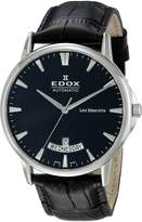 Edox Men's 83015 3 NIN Les Bemonts Analog Display Swiss Automatic Watch