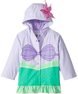 Western Chief Ariel Raincoat (Toddler/Little Kids) (Aqua) Girl's Coat