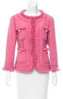 Moschino Cheap & Chic Moschino Cheap and Chic Wool Tweed Jacket