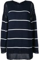 Stella McCartney striped jumper - women - Cotton - 42
