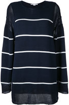 Stella McCartney striped jumper - women - Cotton - 44