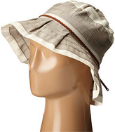 San Diego Hat Company RBM5560 4 Inch Brim Sun Hat with Faux Suede Braided Trim