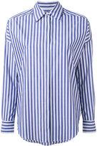 Alberto Biani concealed fastening shirt