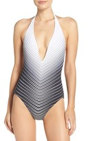 Vince Camuto Women's Plunge One-Piece Swimsuit