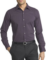 Van Heusen Long Sleeve Flex Slim Fit Button-Front Shirt