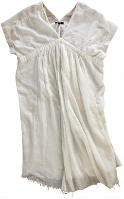Pas De Calais White Cotton Dress for Women