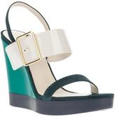 Jil Sander wedge sandal