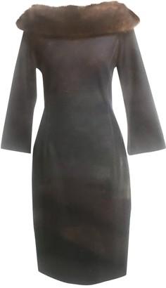 Thomas Rath Blue Silk Dress for Women