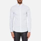 Michael Kors Slim Fit Landon Long Sleeve Shirt Ocean