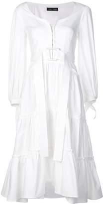 Proenza Schouler Long Puff Sleeved Dress
