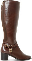 Dune Ladies Brown Elegant Vicky Leather Boots