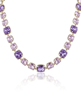 A-Z Collection Amethyst Crystal Necklace