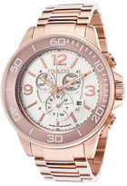 Mulco MW490147331 Men's Chronograph Rose-Tone Stainless Steel White Dial