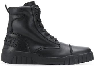 Diesel hybrid sneaker-boots