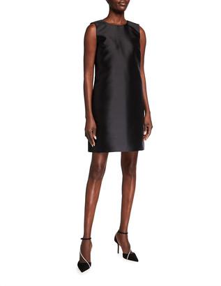 Carolina Herrera Sleeveless Mikado Shift Dress