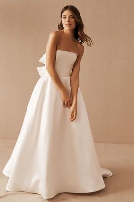 Amsale Nouvelle Pina Gown