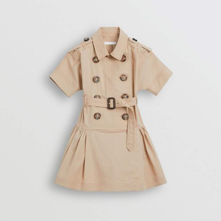 1b434049c Burberry Girls Trench - ShopStyle