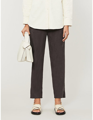 Rails Graham mid-rise woven tapered trousers