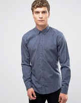 BOSS ORANGE by Hugo Boss Edipoe Fleck Shirt Slim Fit Buttondown